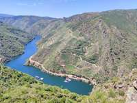 Sil canyon. Galizia-Spagna