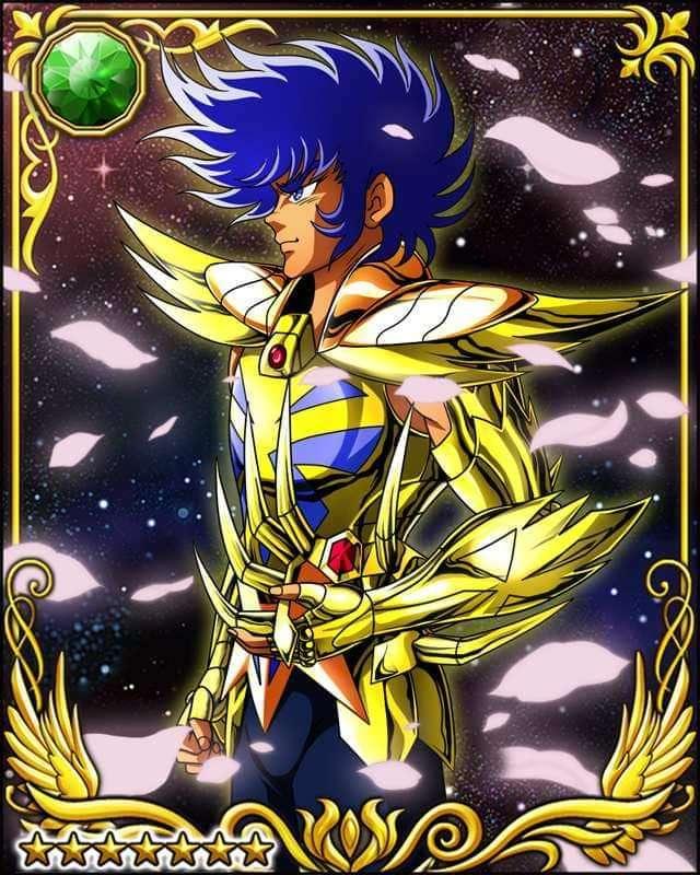 """Saint Seiya --- Cavaleiro de Ouro de Câncer - """"Hora de um bom banho de sangue!!!"""" - Máscara de Morte de Câncer (9×12)"""