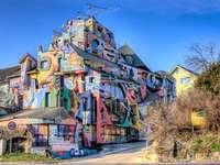 Színes ház Szlovákiában
