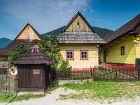 Vikolinec i Slovakien