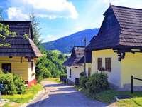 Vikolinec в Словакия