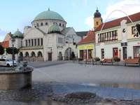 Trencin i Slovakien