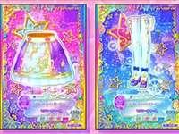 偶像 活動 卡 -Violet Shine Stars Coord