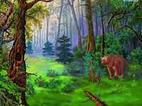 гора и мечка