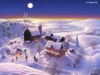 zimní viditelnost