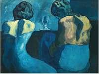 Pierreuses au bar (1902) di Pablo Picasso