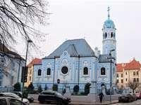 Братиславска синя църква в Словакия