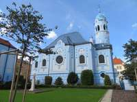 Biserica Albastră din Bratislava din Slovacia