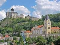 Trencin Castle in Slowakije