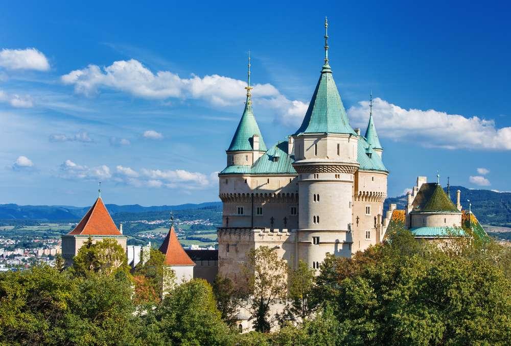 Castillo de Bojnice en Eslovaquia