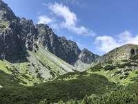 Paisagem na Eslováquia