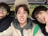 BTS jhope, tae, jungkook