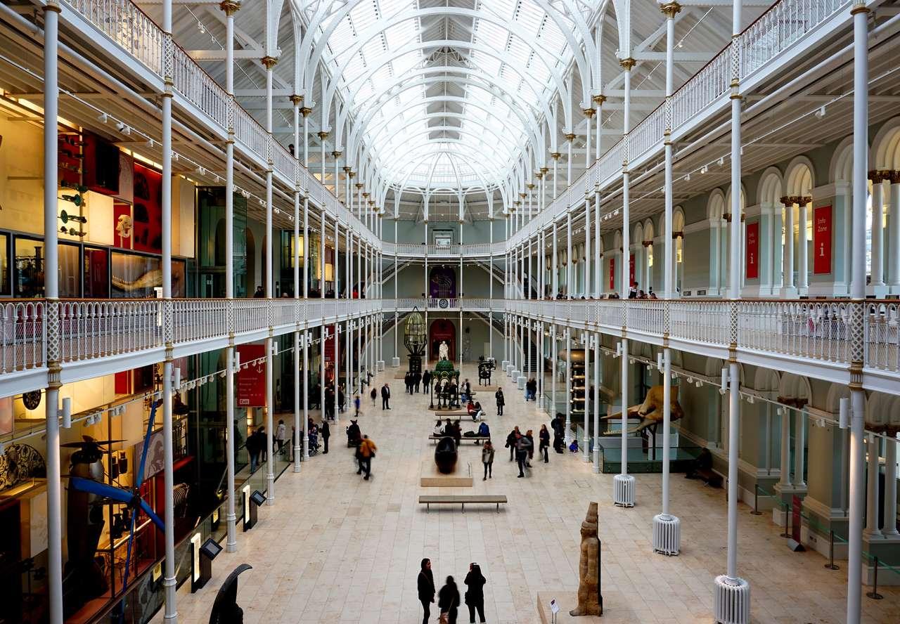 Edinburghské národní muzeum - Národní muzeum v Edinburghu (15×11)