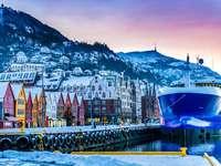 зима в Норвегия