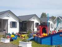 holiday homes with a playground