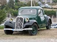1934 г. Citroën Traction 11CV Faux Cabriolet