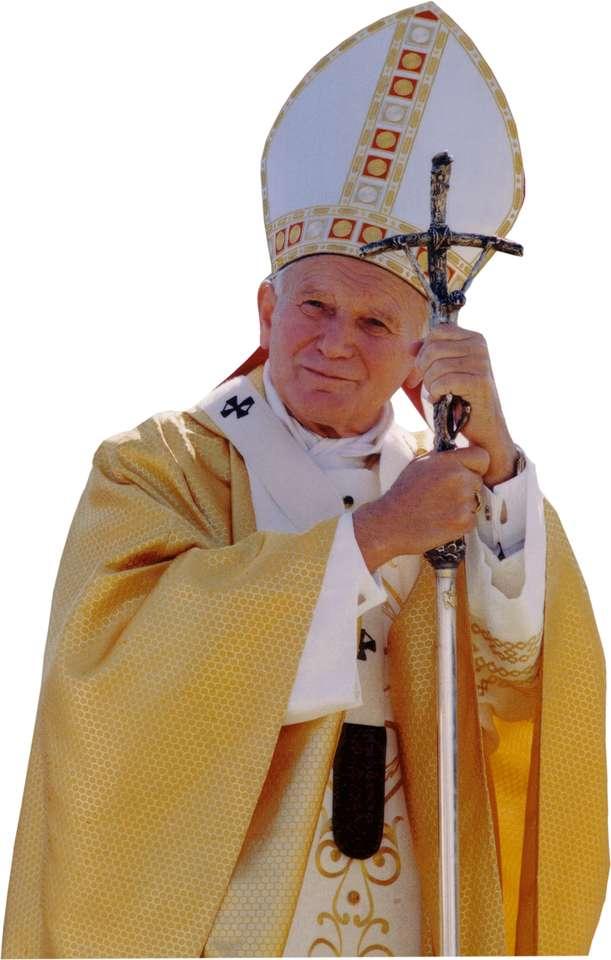 Papež Jan Pavel II - Na obrázku je Karol Wojtyła jako polský papež Jan Pavel II (3×6)