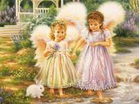 little girls little angels