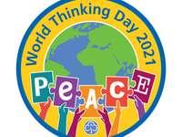 Puzzle della giornata mondiale del pensiero 2