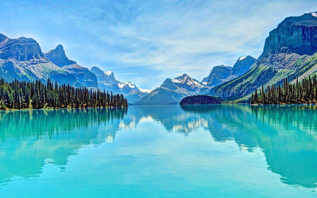 Romper cabezas xD - Hermosísimo lago azul y celeste (20×13)