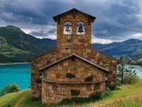 Камбанария, планини, Chapelle de Roselend