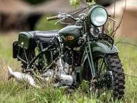 motocykl zabytkowy- B.S.A, G14, 1937
