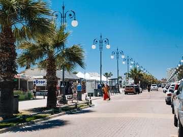 calle en chipre