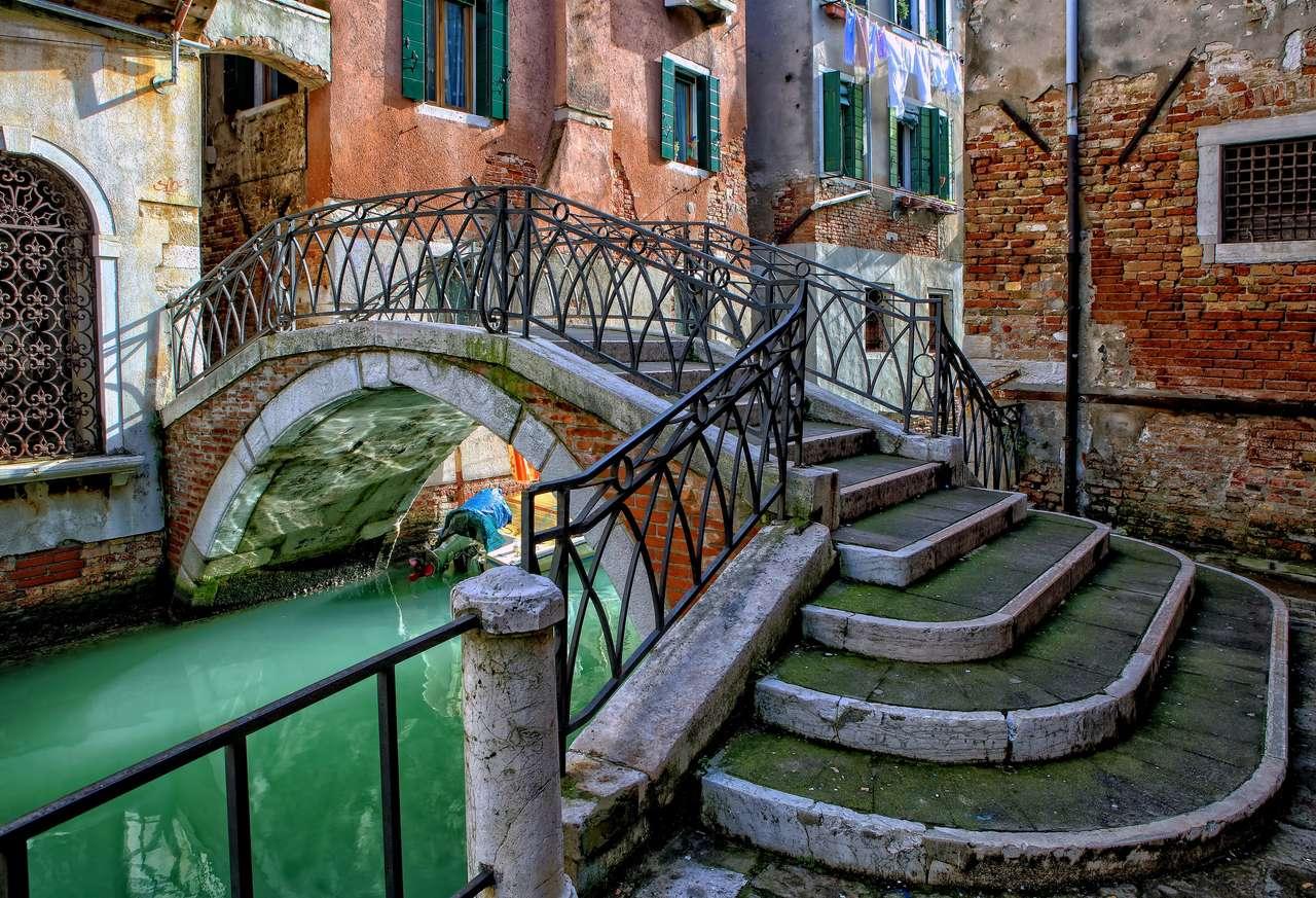 Venice Italy - Venice Canal - Italy (16×11)