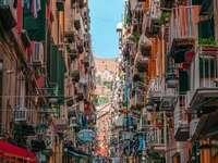 Ruelle de Naples Italie