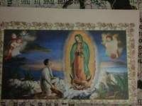 Vierge de Guadalupe Mexique