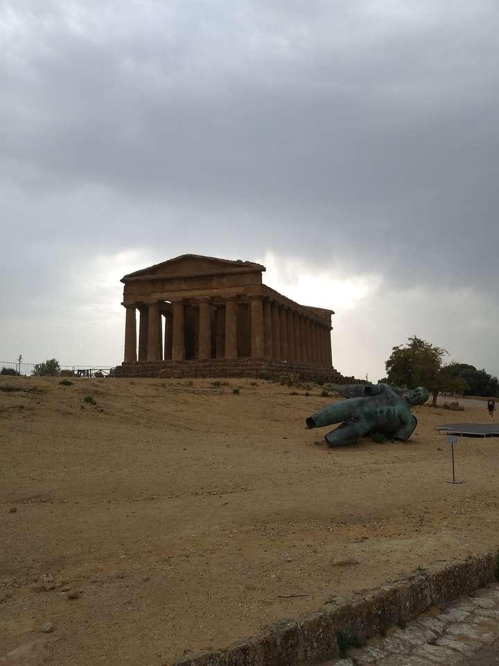 Agrigento - Vale dos templos de Agrigento (8×11)