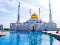 mešita v Kazachstánu