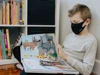 γυναίκα σε γκρι πουλόβερ που κάθεται στην καρέκλα ανάγνωση βιβλίων
