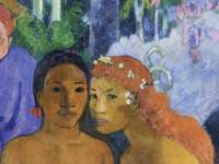Barbarian Tales, 1902 por Paul Gauguin