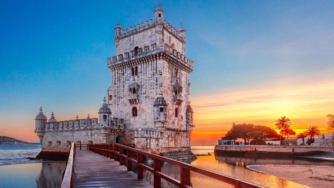 Belém Tower - The Belém Tower is located in Lisbon, the capital of Portugal. Celebration of Discoveries over 500 years (10×6)