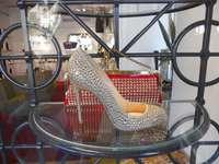 Glänzender Schuh