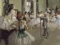 Taneční třída, Edgar Degas