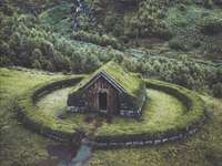 Hus i greenen