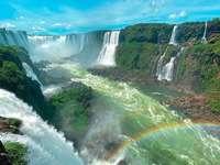 Igua Wasserfall.
