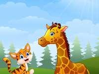 AbouTorabi tanár, vadon élő zsiráf tanulása