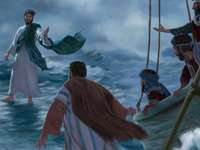 Jezus chodzi po Mae