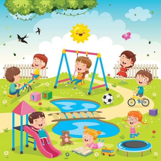 Eftermiddag - Spelar på eftermiddagen (3×3)