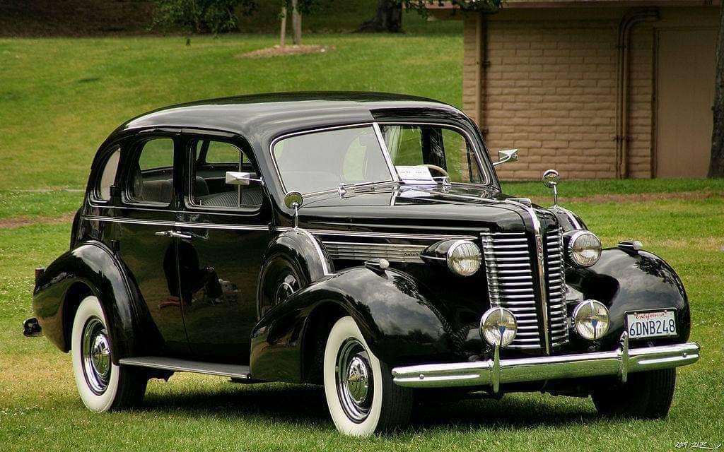 1938 Buick Roadmaster 80-as sorozat Touring (12×8)