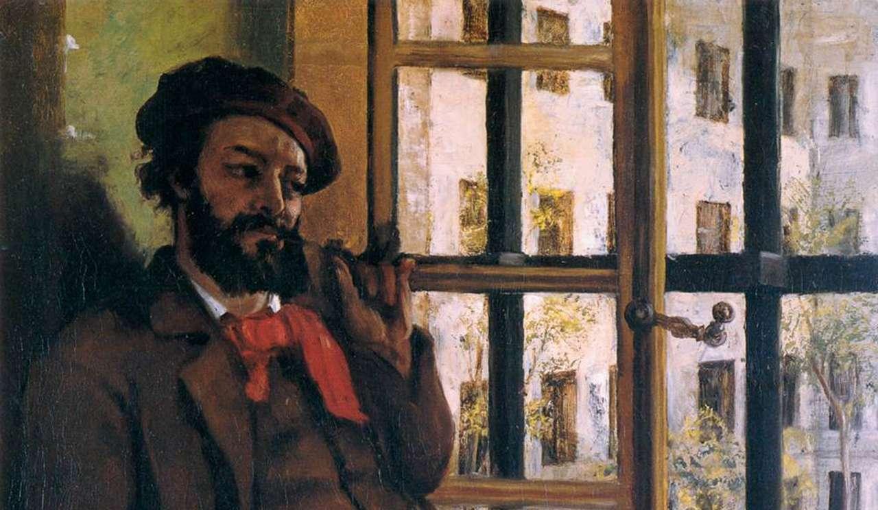 Autoportrait (1872) de Gustave Courbet,