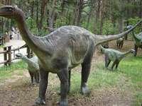 Dinosaurierparks in Polen