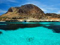 Egadi Islands Trapani Sizilien Italien