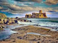 Le Castella Insel Capo Rizzuto Kalabrien Italien