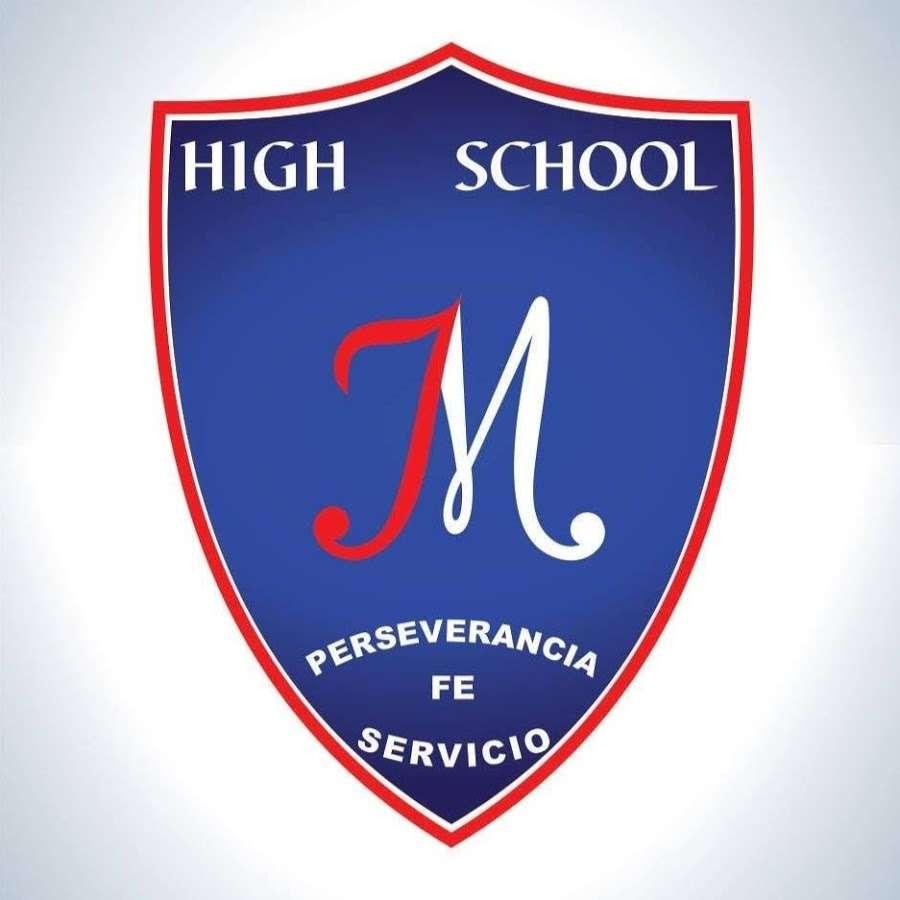Jesus El Maestro High School - Jesus el Maestro High school badge (4×4)