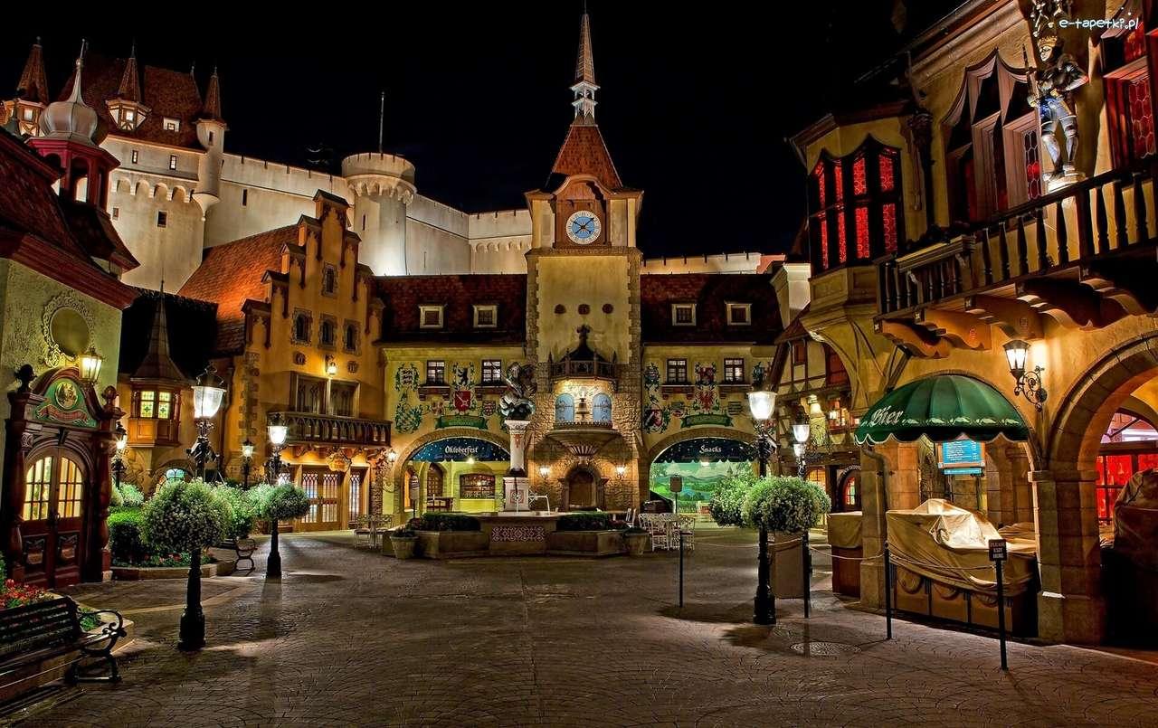Disneyland v noci - Kalifornie - m (14×9)