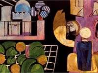 """""""Marokańczycy"""" (1915) autorstwa Henri Matisse"""